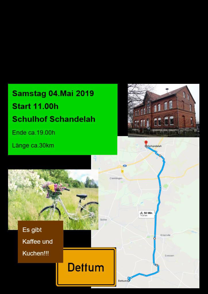 """Familien-Fahrradtour zum Museum """"Zeitnabe"""""""
