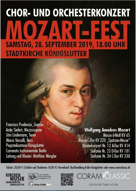 Mozart – Fest @ Stadtkirche Königslutter